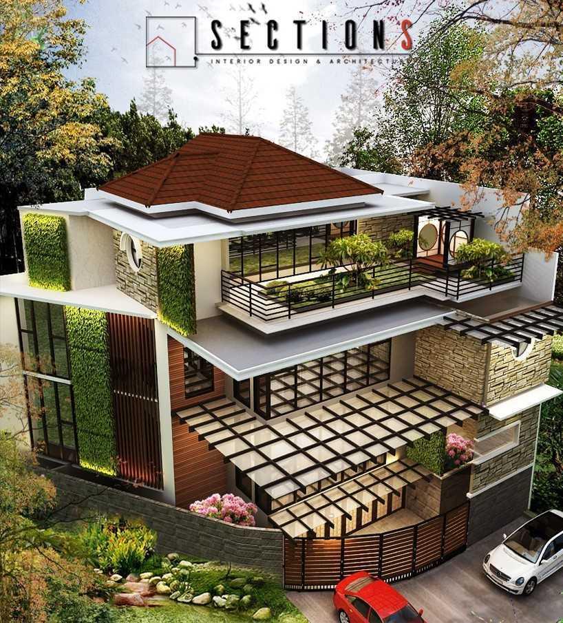Sections Design & Architecture 2 Storey Tropical House Project Tangerang, Kota Tangerang, Banten, Indonesia Tangerang, Kota Tangerang, Banten, Indonesia Sections-Design-Architecture-Private-Residential  85985