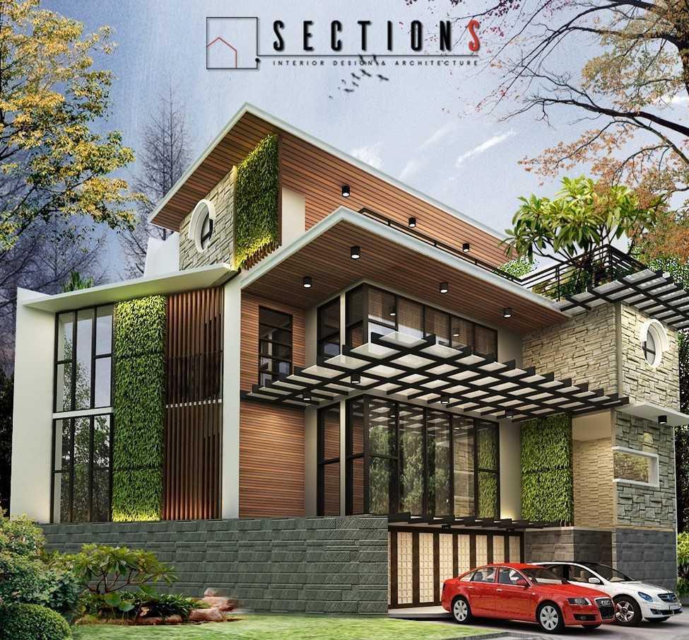 Sections Design & Architecture 2 Storey Tropical House Project Tangerang, Kota Tangerang, Banten, Indonesia Tangerang, Kota Tangerang, Banten, Indonesia Sections-Design-Architecture-Private-Residential  85986