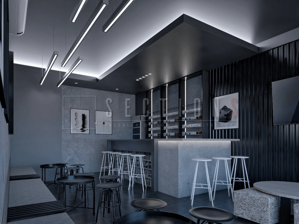 Sections Design & Architecture Industrial Vape Store Project ( Mr Irvan) Gembor, Kec. Periuk, Kota Tangerang, Banten, Indonesia Gembor, Kec. Periuk, Kota Tangerang, Banten, Indonesia Sections-Design-Architecture-Vape-Shop  92207