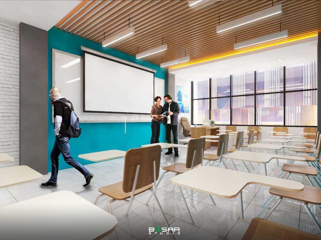 Foto inspirasi ide desain ruang belajar modern Studio-besar-kantor-akademi-komunitas-nusantara-akn oleh Studio BESAR di Arsitag