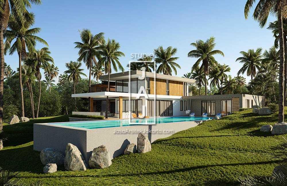 Studio Jaj Jasa Arsitek Jawa Barat, Desain Rumah Modern Style Luas 560 M2 Di Pangandaran Pangandaran, Jawa Barat, Indonesia Pangandaran, Jawa Barat, Indonesia Studio-Jaj-Desain-Rumah-Modern-Style-Luas-560-M2-Di-Pangandaran-Jawa-Barat  84939