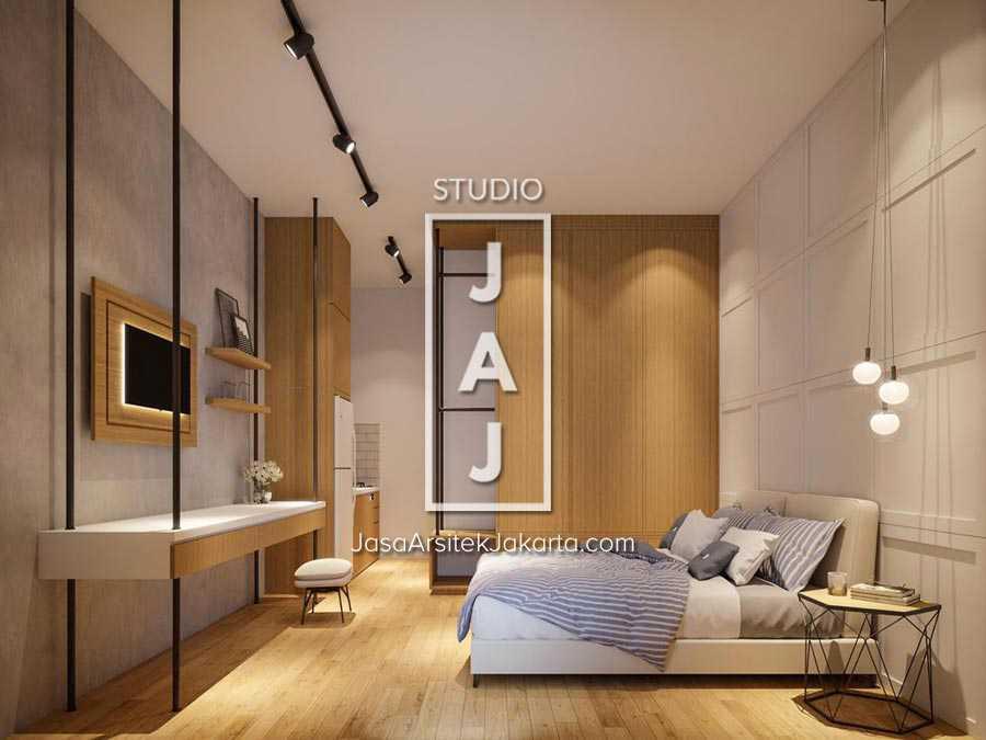Studio Jaj Jasa  Arsitek  Jakarta Mini Apartment 4 Lantai Jakarta Selatan, Kota Jakarta Selatan, Daerah Khusus Ibukota Jakarta, Indonesia Jakarta Selatan, Kota Jakarta Selatan, Daerah Khusus Ibukota Jakarta, Indonesia Kamar Tidur Mini Apartment Industrial 87583