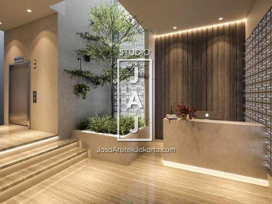 Studio Jaj Jasa  Arsitek  Jakarta Mini Apartment 4 Lantai Jakarta Selatan, Kota Jakarta Selatan, Daerah Khusus Ibukota Jakarta, Indonesia Jakarta Selatan, Kota Jakarta Selatan, Daerah Khusus Ibukota Jakarta, Indonesia Lobby  Mini Apartment Contemporary 87587