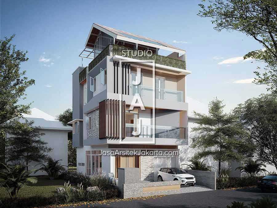 Studio Jaj Jasa Arsitek Jakarta Rumah 4 Lantai Style Modern Jakarta, Daerah Khusus Ibukota Jakarta, Indonesia Jakarta, Daerah Khusus Ibukota Jakarta, Indonesia Interior Ruang Makan  88254