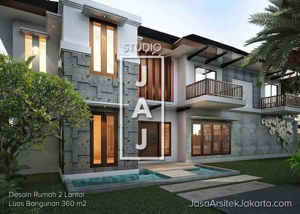 Studio Jaj Jasa Arsitek Bogor, Rumah 2 Lantai Luas 360 M2 Bogor, Jawa Barat, Indonesia Bogor, Jawa Barat, Indonesia Studio-Jaj-Jasa-Arsitek-Bogor-Rumah-2-Lantai-Luas-360-M2  91546