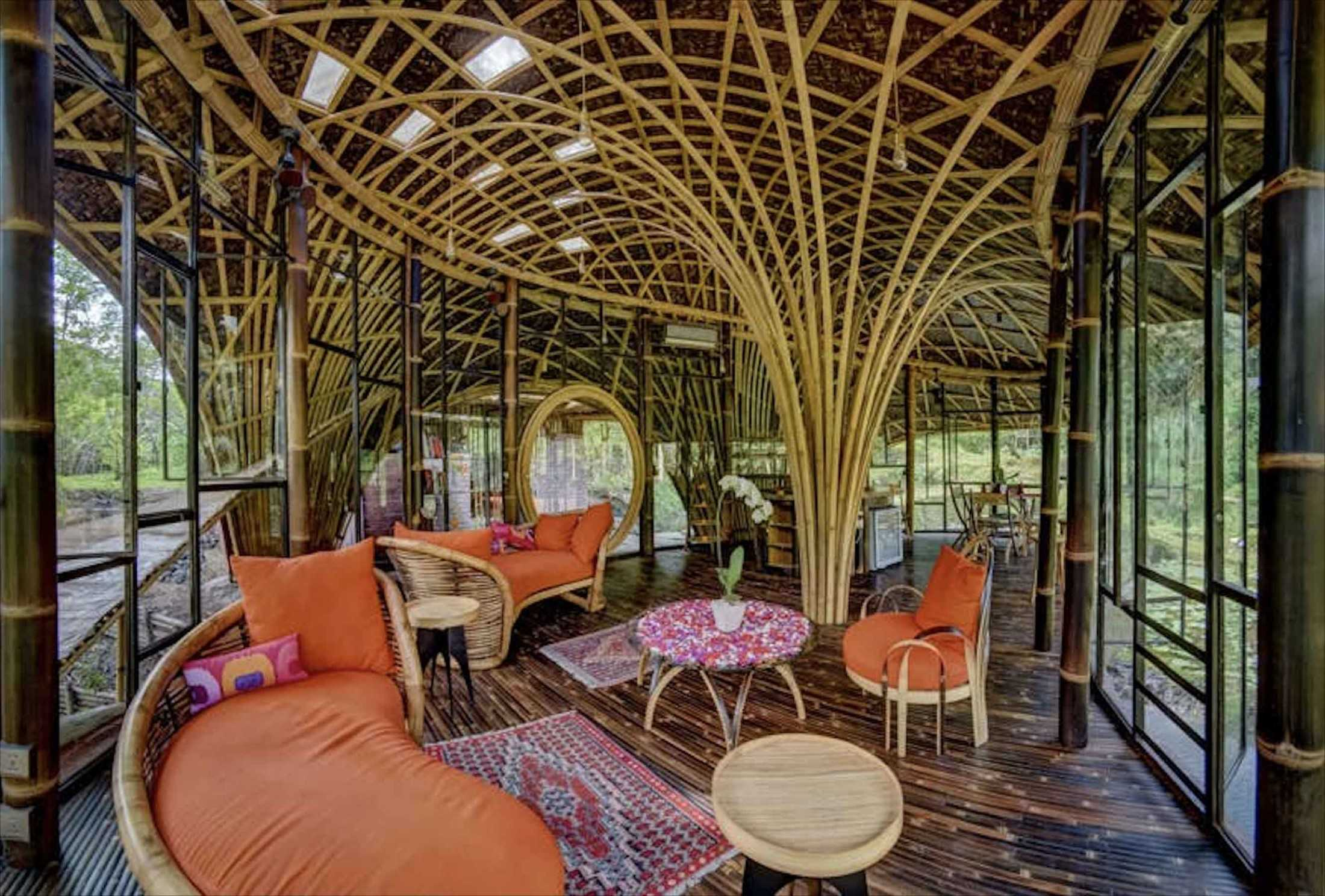 Agung Budi Raharsa | Architecture & Engineering Riverbend Bamboo House - Bali Bali, Indonesia Bali, Indonesia Agung-Budi-Raharsa-Riverbend-House-Bali  88710