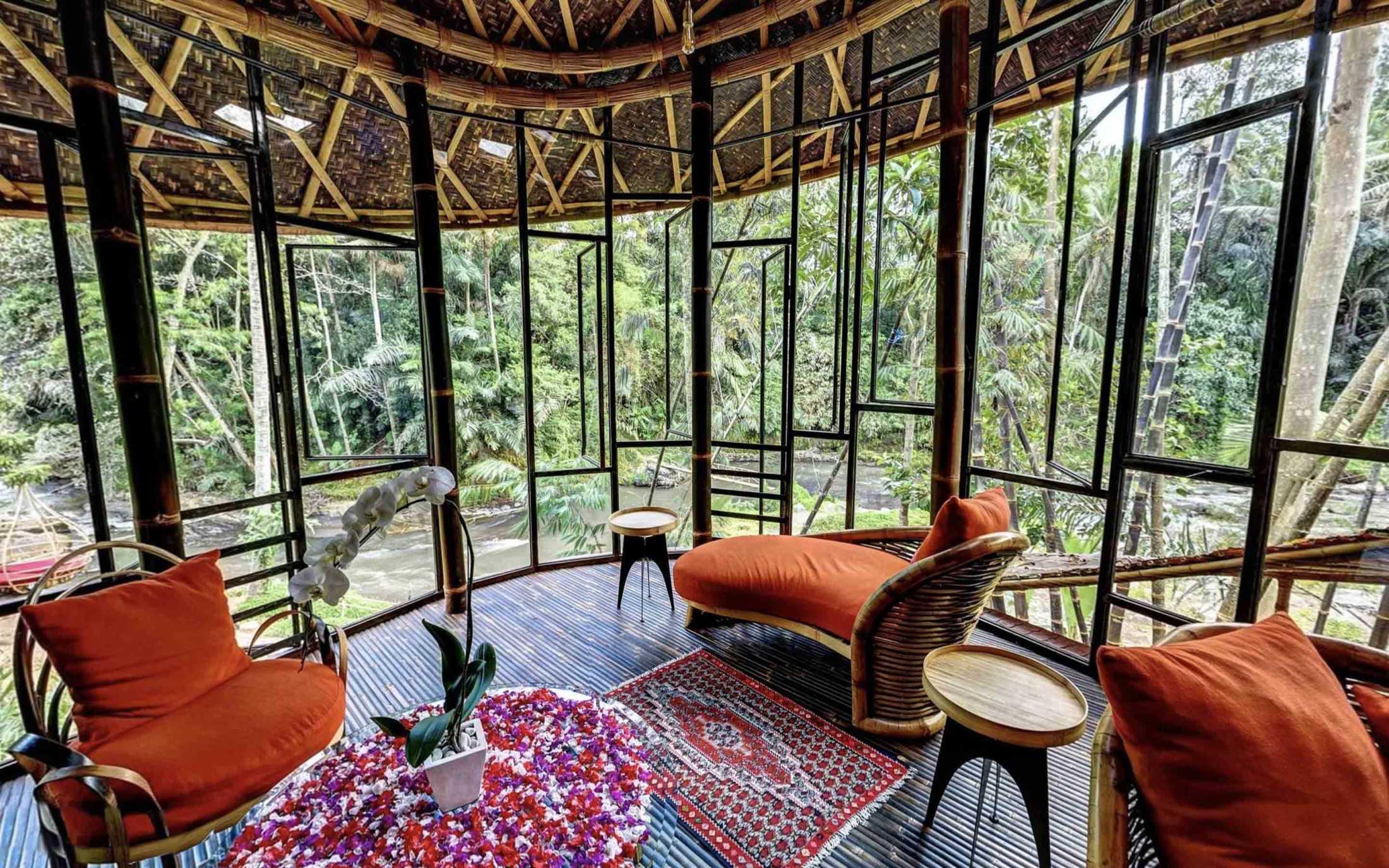 Agung Budi Raharsa | Architecture & Engineering Riverbend Bamboo House - Bali Bali, Indonesia Bali, Indonesia Agung-Budi-Raharsa-Riverbend-House-Bali  88711