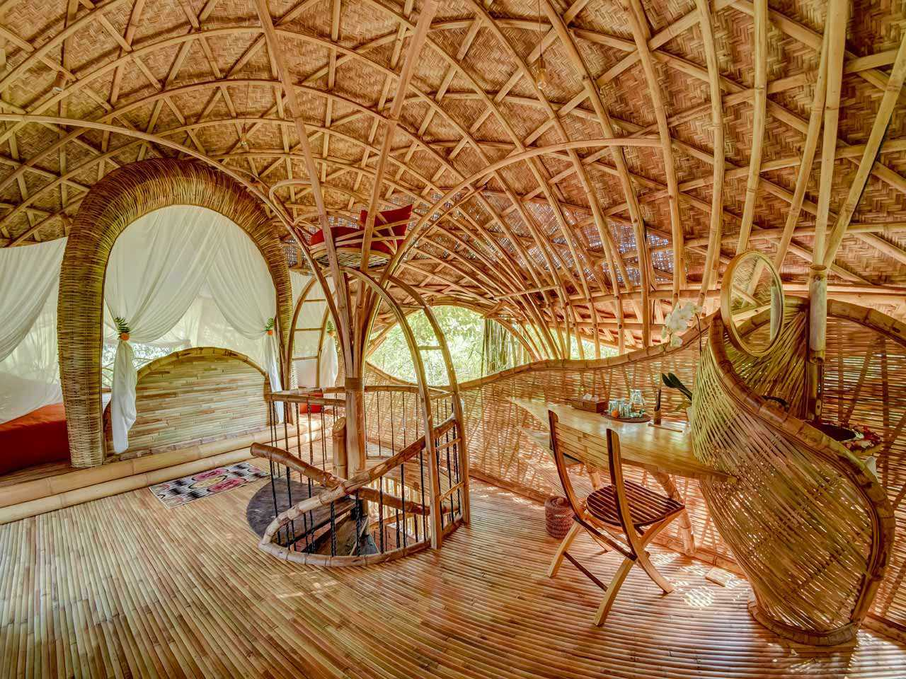 Agung Budi Raharsa | Architecture & Engineering Riverbend Bamboo House - Bali Bali, Indonesia Bali, Indonesia Agung-Budi-Raharsa-Riverbend-House-Bali  88722