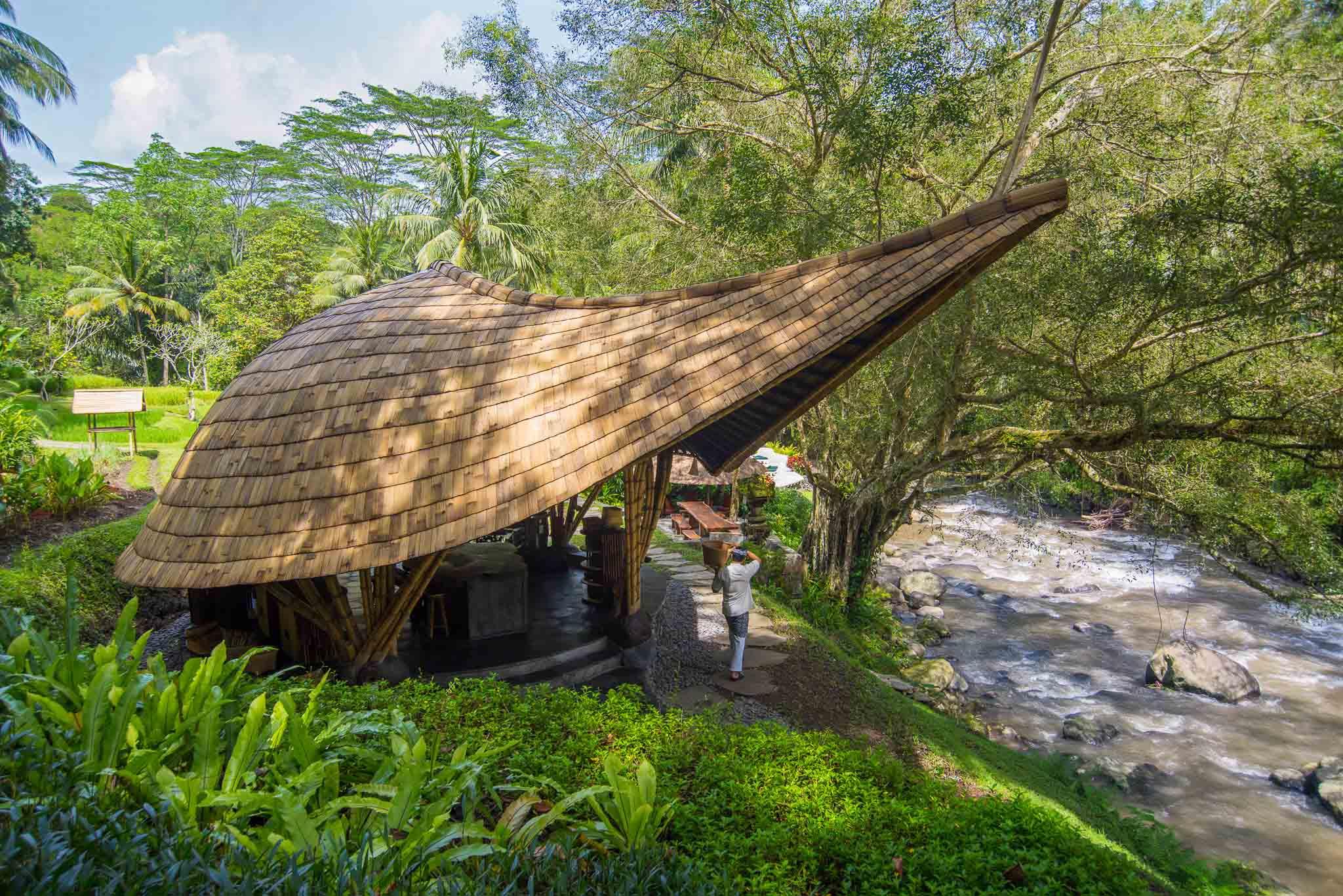 Agung Budi Raharsa | Architecture & Engineering Sokasi Bamboo Cooking Class / School - Bali Bali, Indonesia Bali, Indonesia Elevation Tropical 88743
