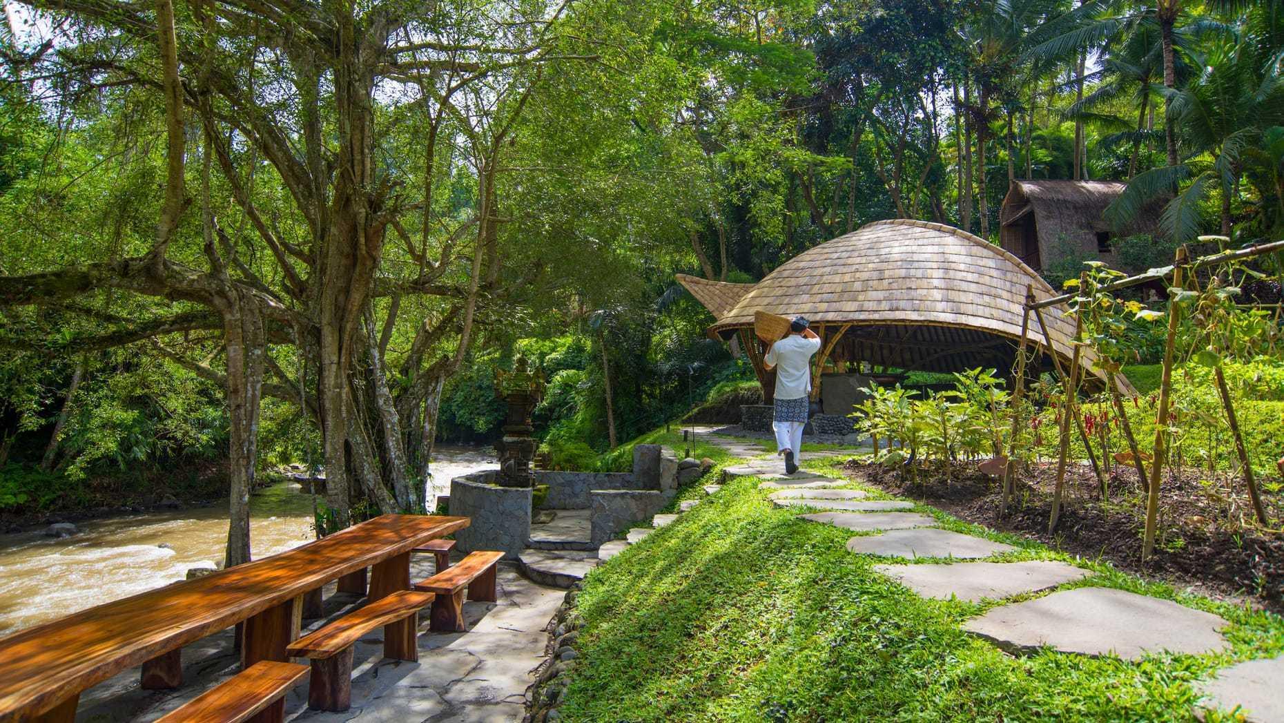 Agung Budi Raharsa | Architecture & Engineering Sokasi Bamboo Cooking Class / School - Bali Bali, Indonesia Bali, Indonesia Elevation  88744