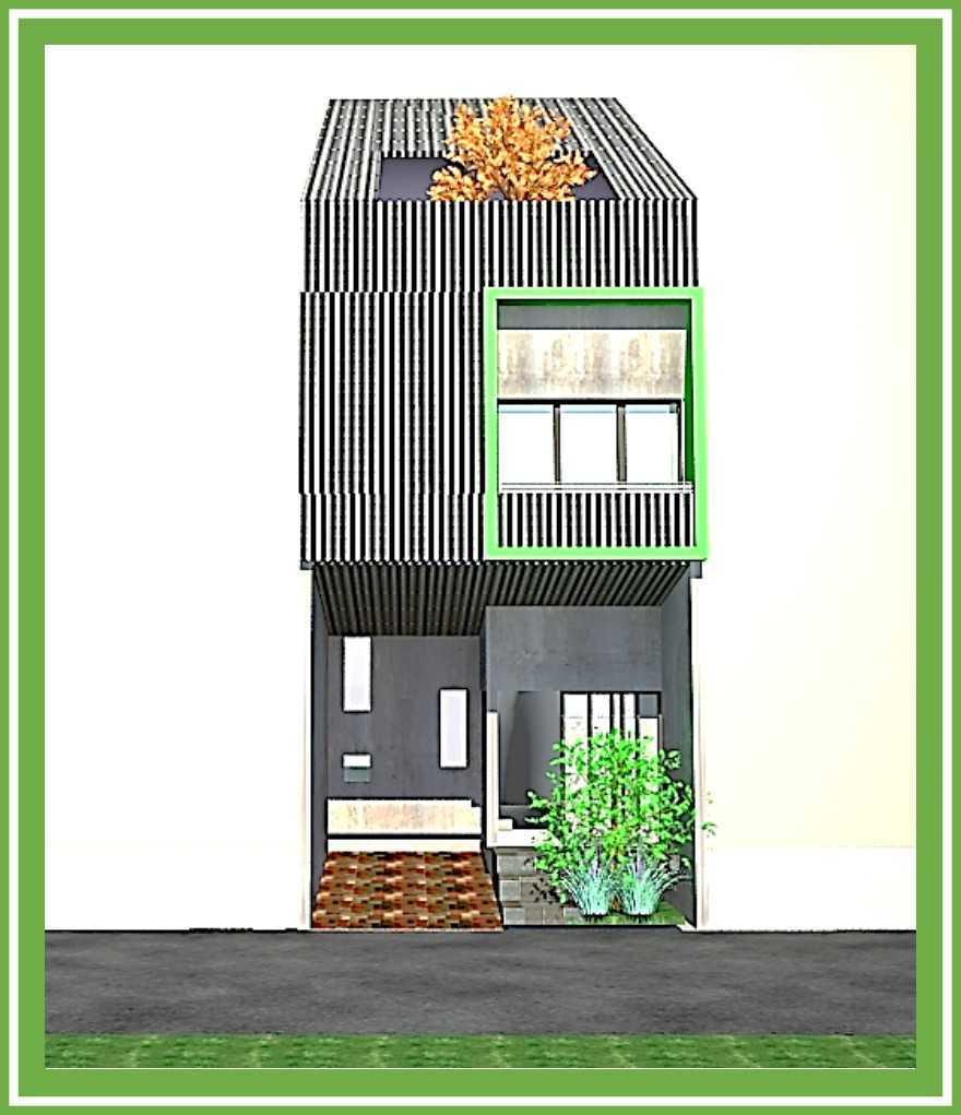 Ideall Design Rumah Kampung Kebon Nanas 5X12 Kebon Nanas Selatan 8, Cipinang Cempedak, Kecamatan Jatinegara, Kota Jakarta Timur, Daerah Khusus Ibukota Jakarta, Indonesia Kebon Nanas Selatan 8, Cipinang Cempedak, Kecamatan Jatinegara, Kota Jakarta Timur, Daerah Khusus Ibukota Jakarta, Indonesia Fasade Alternative 1 Industrial 114205