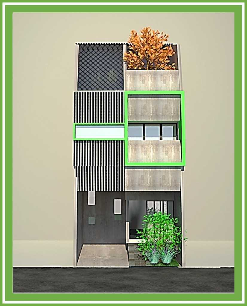 Ideall Design Rumah Kampung Kebon Nanas 5X12 Kebon Nanas Selatan 8, Cipinang Cempedak, Kecamatan Jatinegara, Kota Jakarta Timur, Daerah Khusus Ibukota Jakarta, Indonesia Kebon Nanas Selatan 8, Cipinang Cempedak, Kecamatan Jatinegara, Kota Jakarta Timur, Daerah Khusus Ibukota Jakarta, Indonesia Fasade Alternative 4  114213