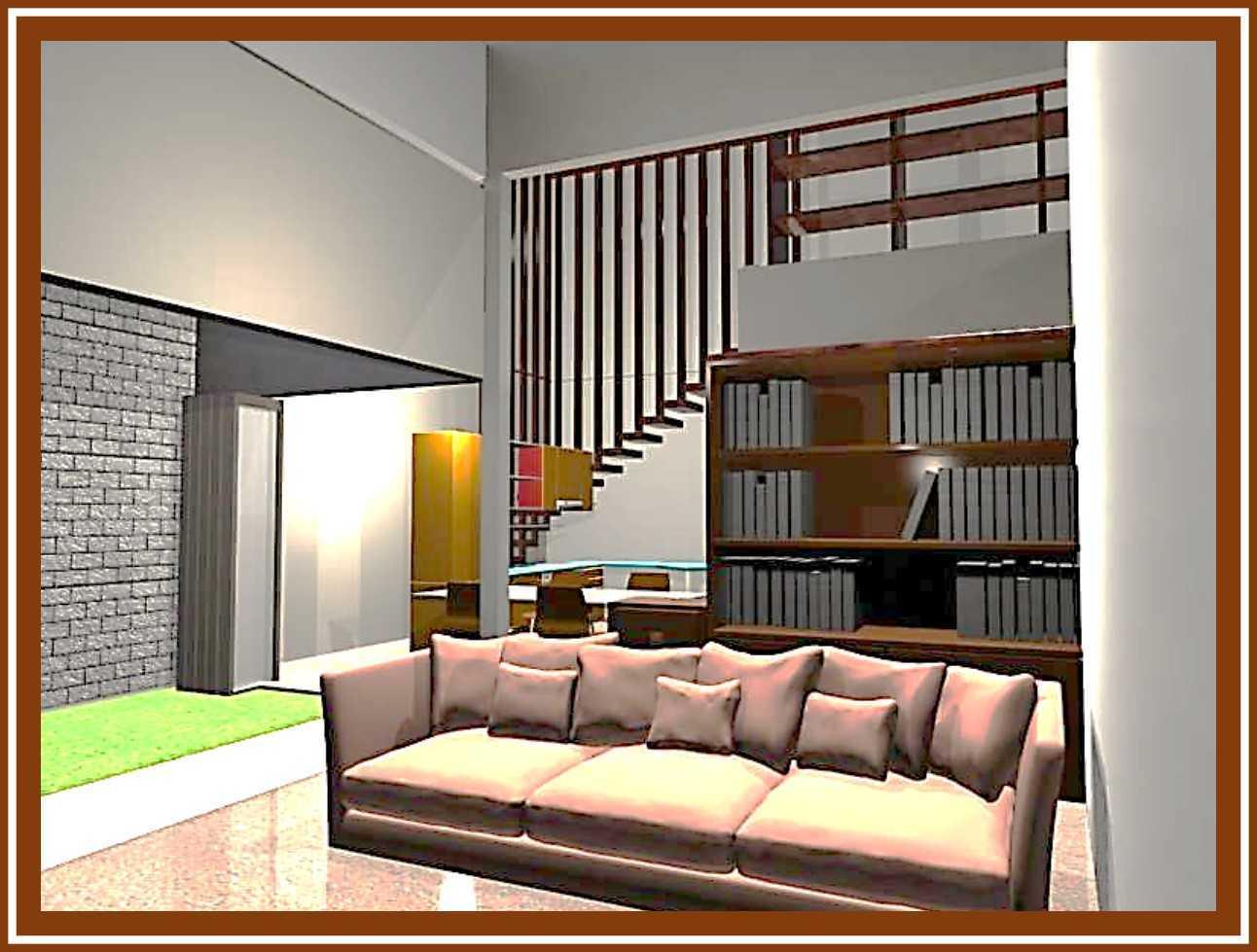 Ideall Design Renovasi Rumah Mezzanine Kec. Pondokgede, Kota Bks, Jawa Barat, Indonesia Kec. Pondokgede, Kota Bks, Jawa Barat, Indonesia Perspektif Ruang Keluarga  114410