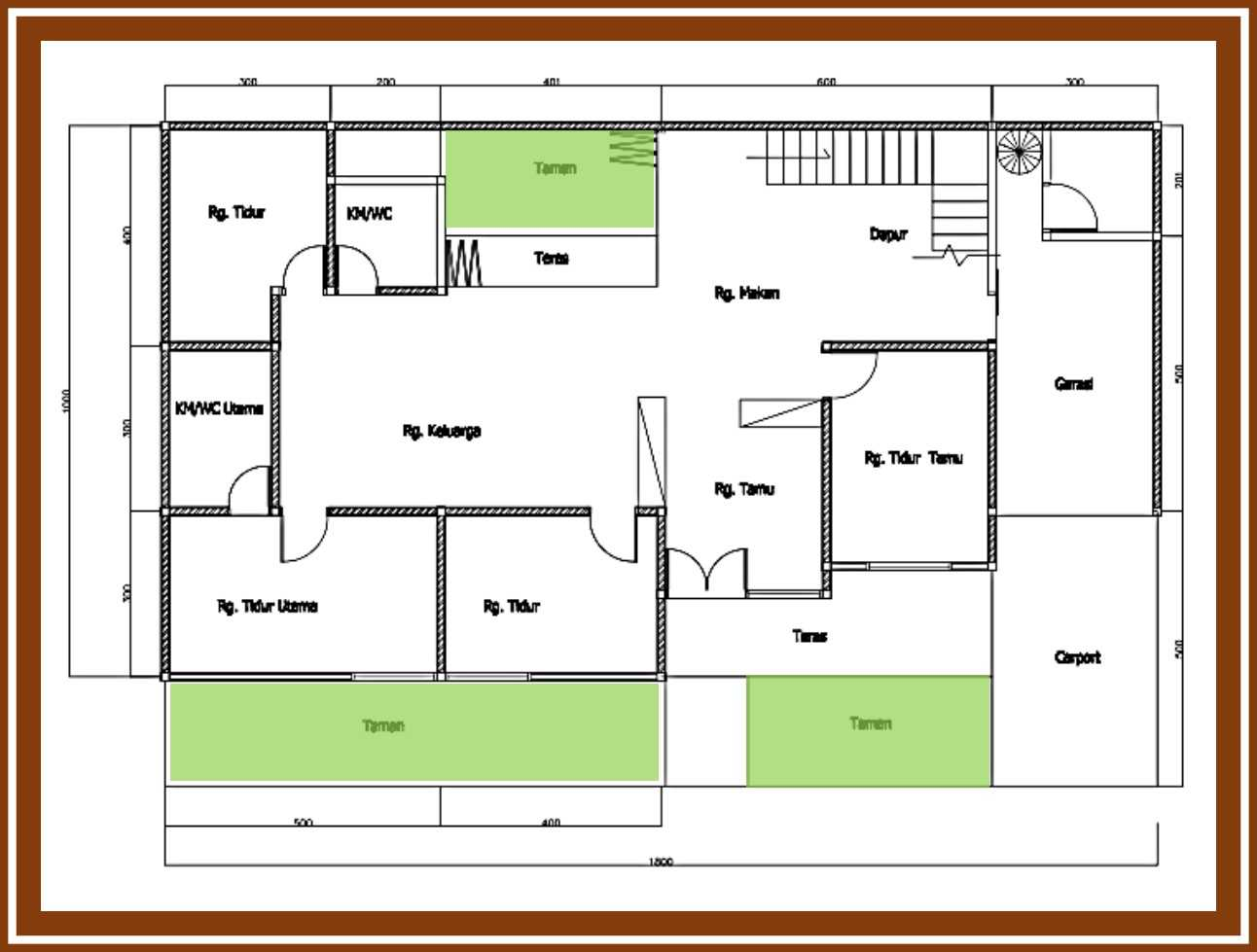 Ideall Design Renovasi Rumah Mezzanine Kec. Pondokgede, Kota Bks, Jawa Barat, Indonesia Kec. Pondokgede, Kota Bks, Jawa Barat, Indonesia Denah Rumah  114414