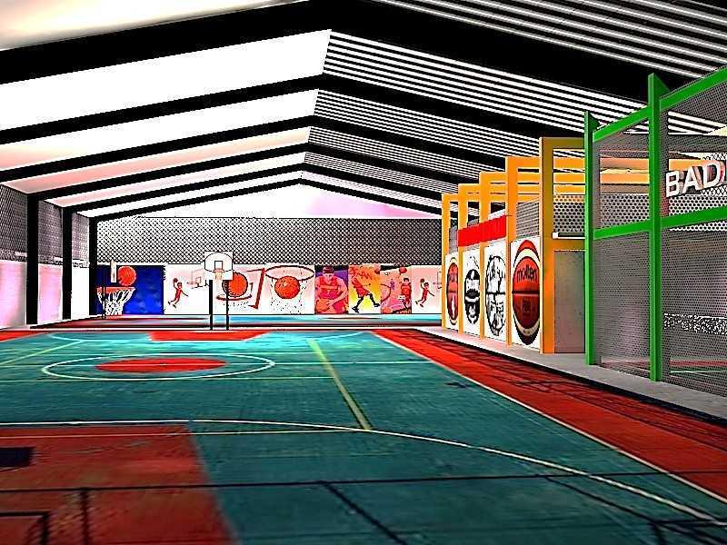 Ideall Design Basketan Sportainment Hall Kec. Ciputat, Kota Tangerang Selatan, Banten, Indonesia Kec. Ciputat, Kota Tangerang Selatan, Banten, Indonesia Ideall-Design-Basketan-Sportainment-Hall  118275