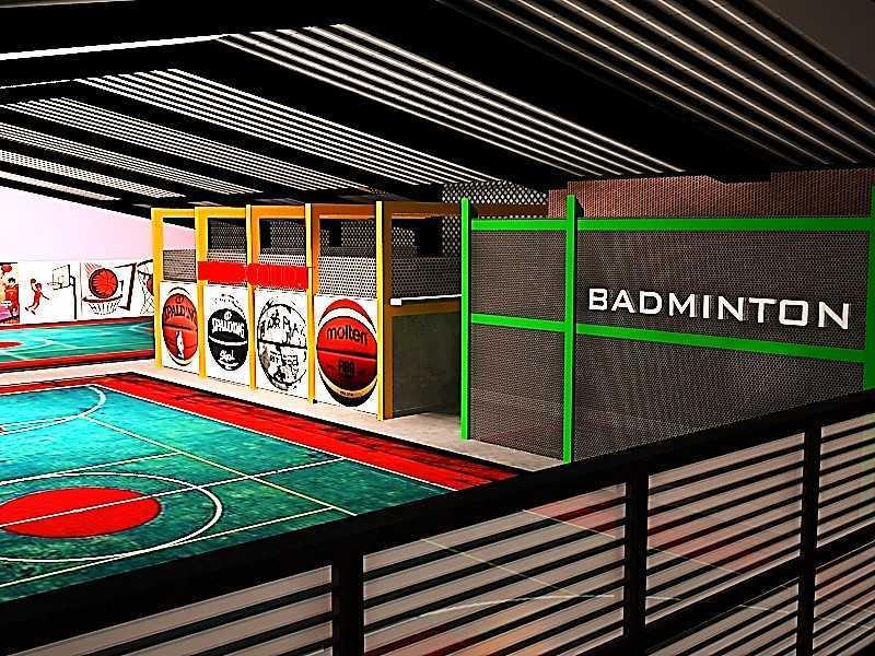 Ideall Design Basketan Sportainment Hall Kec. Ciputat, Kota Tangerang Selatan, Banten, Indonesia Kec. Ciputat, Kota Tangerang Selatan, Banten, Indonesia Ideall-Design-Basketan-Sportainment-Hall  118276
