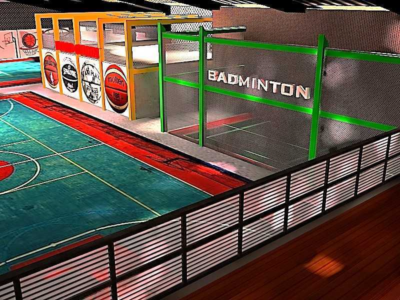 Ideall Design Basketan Sportainment Hall Kec. Ciputat, Kota Tangerang Selatan, Banten, Indonesia Kec. Ciputat, Kota Tangerang Selatan, Banten, Indonesia Ideall-Design-Basketan-Sportainment-Hall  118278