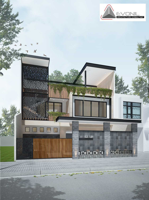 Evonil Architecture Residence Grisenda Jakarta, Daerah Khusus Ibukota Jakarta, Indonesia Jakarta, Daerah Khusus Ibukota Jakarta, Indonesia Exterior Residence Grisenda Evonil Architecture Modern 83952