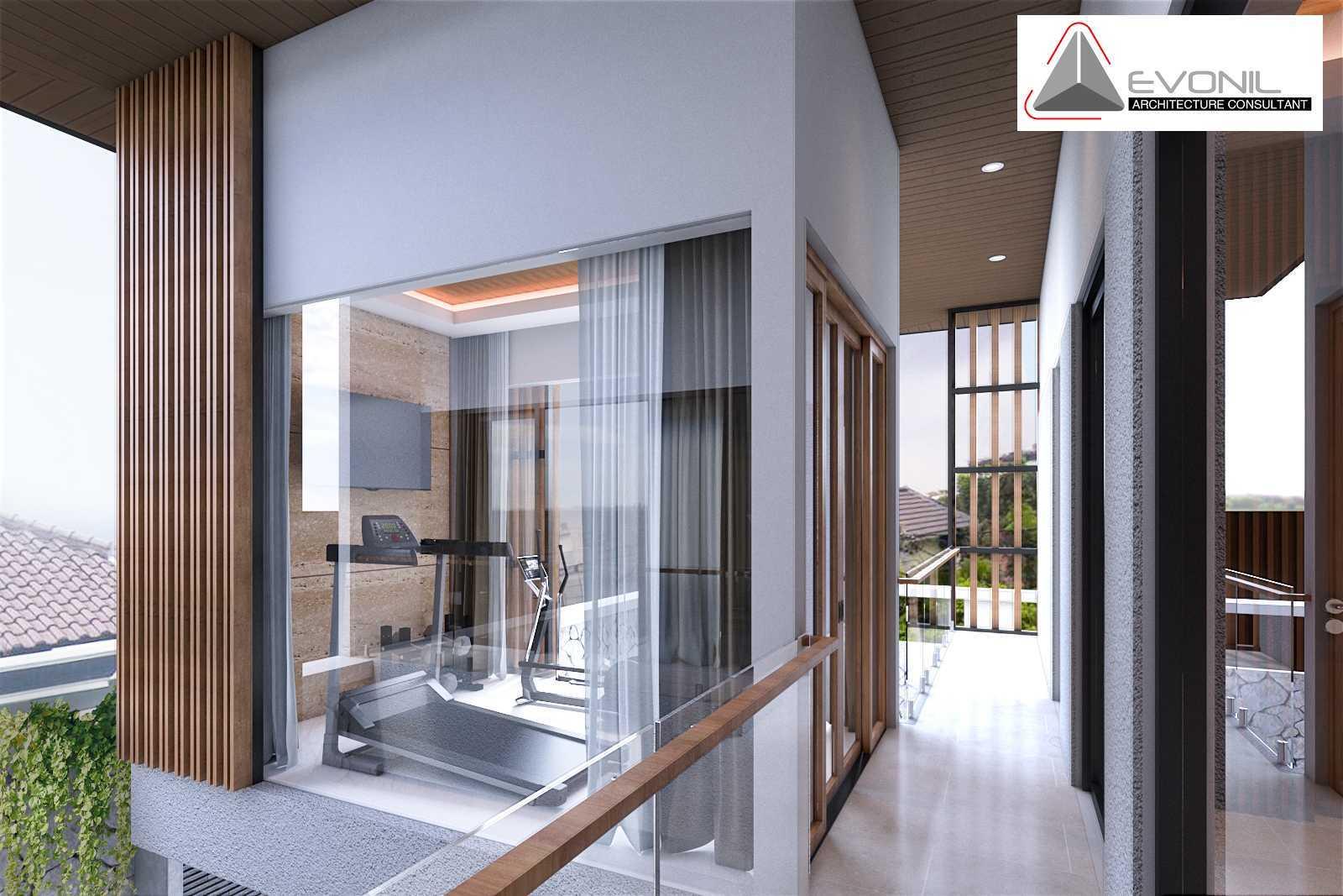 Foto inspirasi ide desain gym Gym room residence sunter evonil architecture oleh EVONIL Architecture di Arsitag
