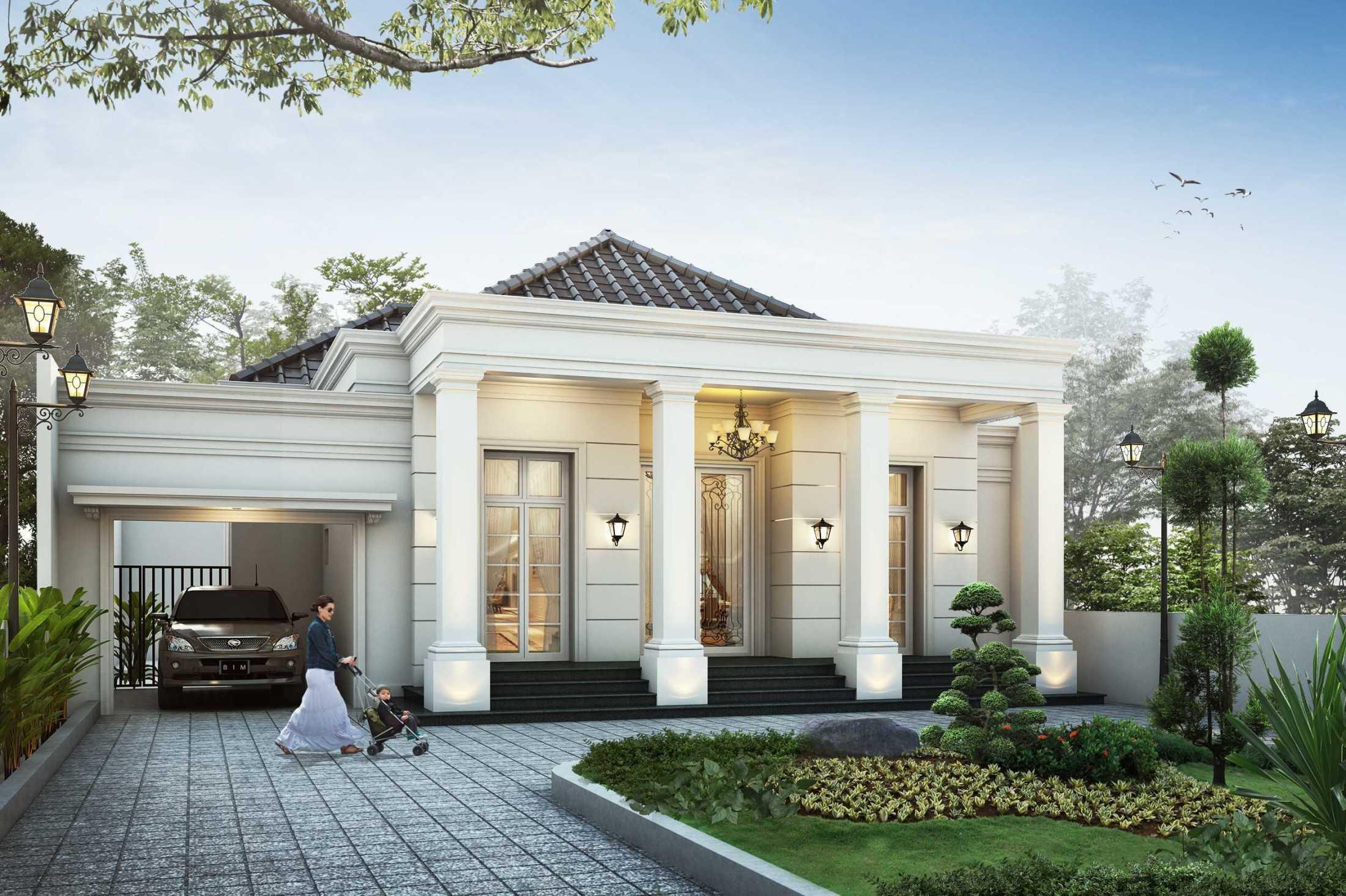 Project Rumah Klasik Modern 1 Lantai Desain Arsitek Oleh ARYAdesain - ARSITAG