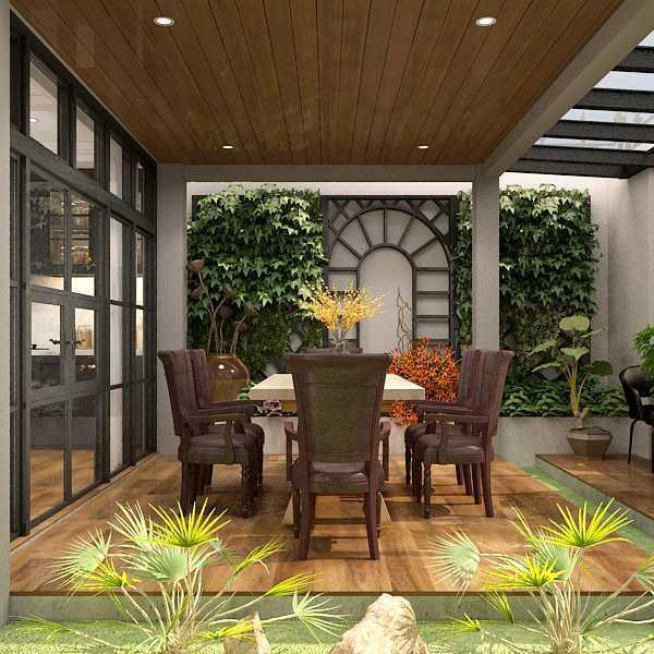 7Design Architect Tropical Resort House - Mrs. R Kec. Jagakarsa, Kota Jakarta Selatan, Daerah Khusus Ibukota Jakarta, Indonesia Kec. Jagakarsa, Kota Jakarta Selatan, Daerah Khusus Ibukota Jakarta, Indonesia 7Design-Architect-Tropical-Resort-House-Mrs-R  116359