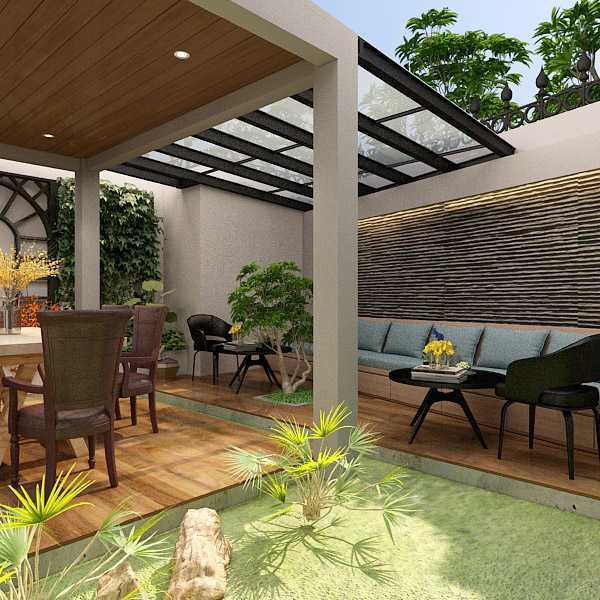 7Design Architect Tropical Resort House - Mrs. R Kec. Jagakarsa, Kota Jakarta Selatan, Daerah Khusus Ibukota Jakarta, Indonesia Kec. Jagakarsa, Kota Jakarta Selatan, Daerah Khusus Ibukota Jakarta, Indonesia 7Design-Architect-Tropical-Resort-House-Mrs-R  116360