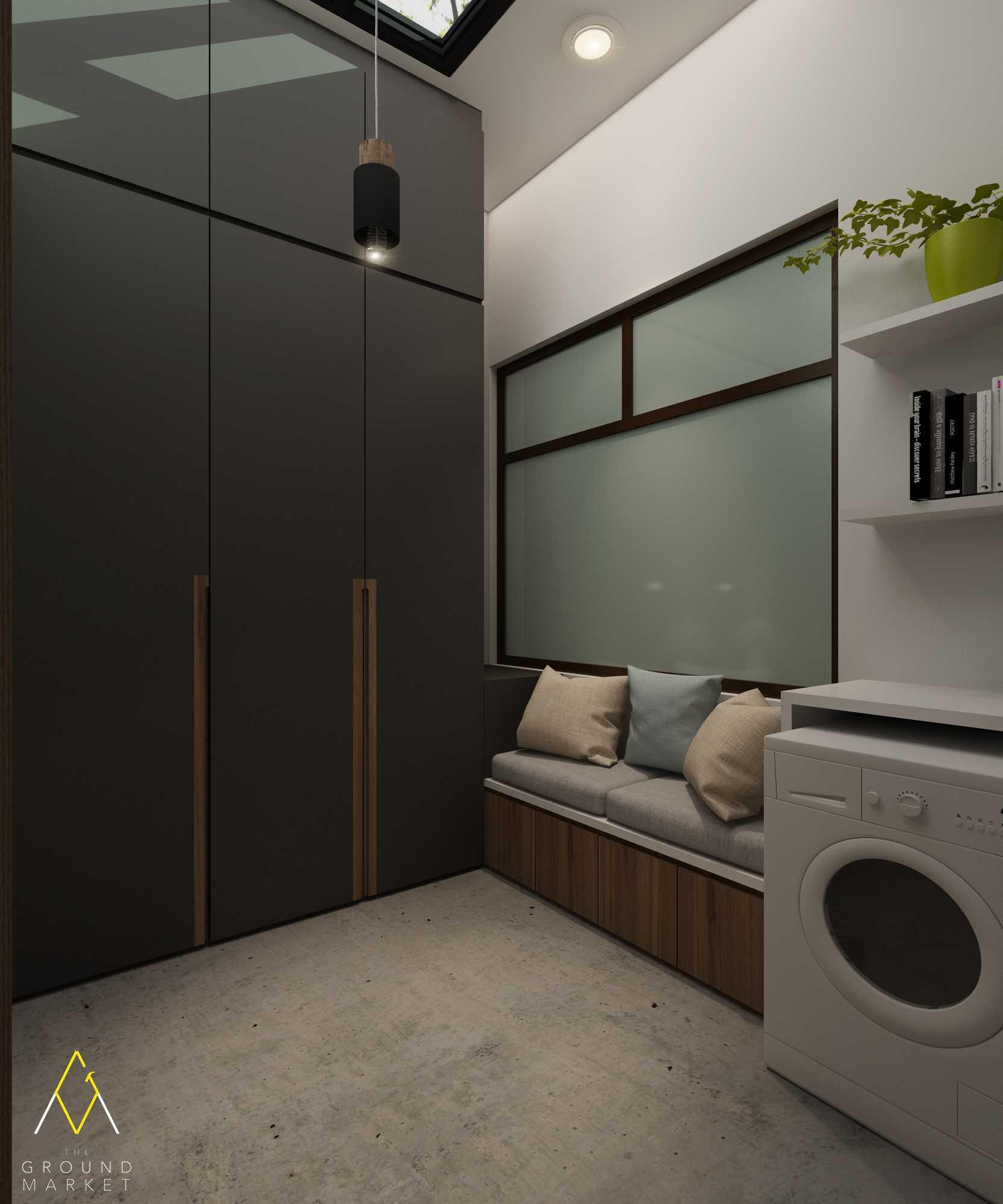 Foto inspirasi ide desain laundry Laundry store area oleh The Ground Market di Arsitag