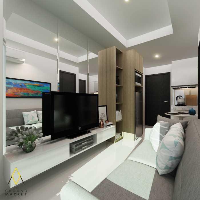 The Ground Market Belmont Residence Apartment, Tower Athena, Jakarta Jakarta, Daerah Khusus Ibukota Jakarta, Indonesia Jakarta, Daerah Khusus Ibukota Jakarta, Indonesia Living Room  61943