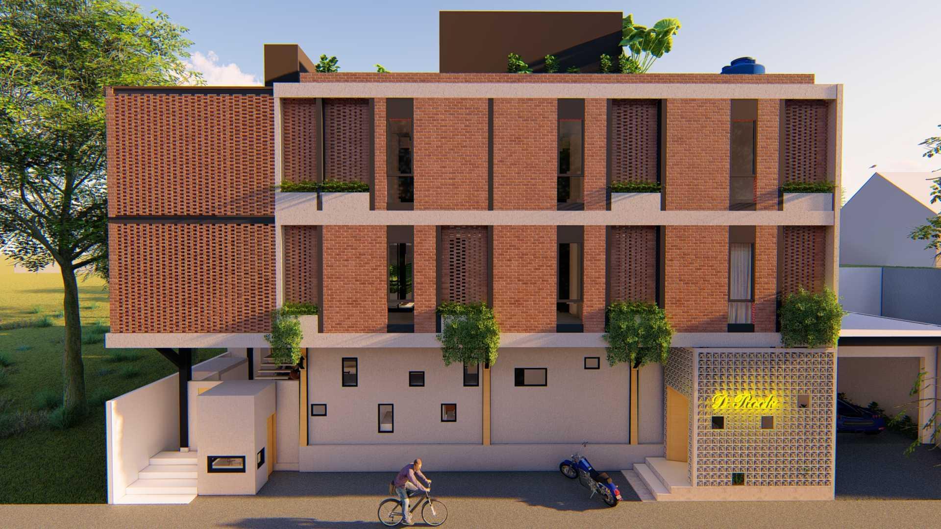 Foto inspirasi ide desain taman industrial Hotel view oleh Habib Musa Architect and Associates di Arsitag