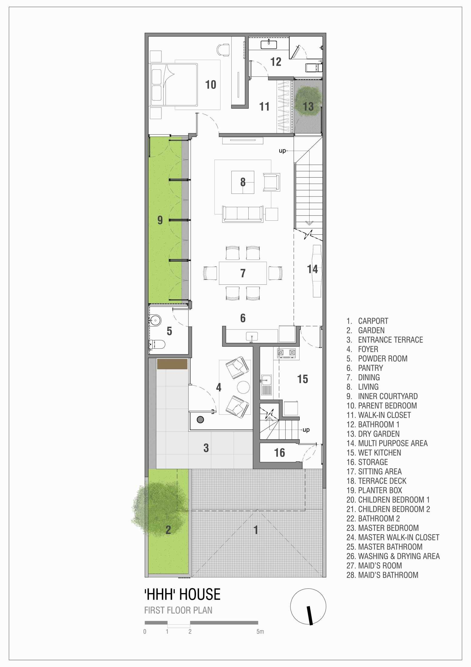Simple Projects Architecture 'hhh' House Surabaya, Kota Sby, Jawa Timur, Indonesia  Simple-Projects-Architecture-Hhh-House  75095