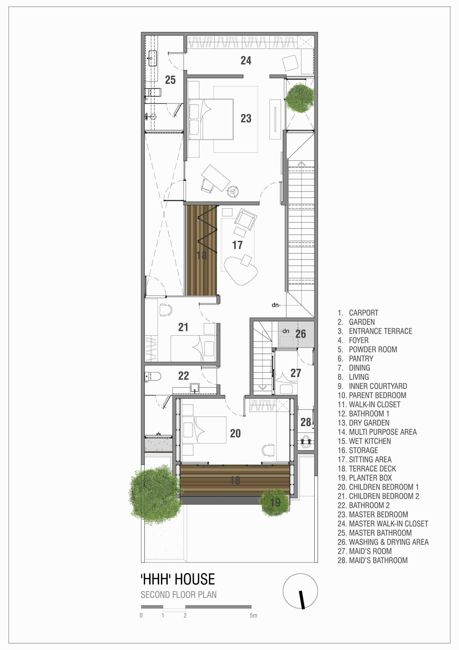 Simple Projects Architecture 'hhh' House Surabaya, Kota Sby, Jawa Timur, Indonesia  Simple-Projects-Architecture-Hhh-House  75096