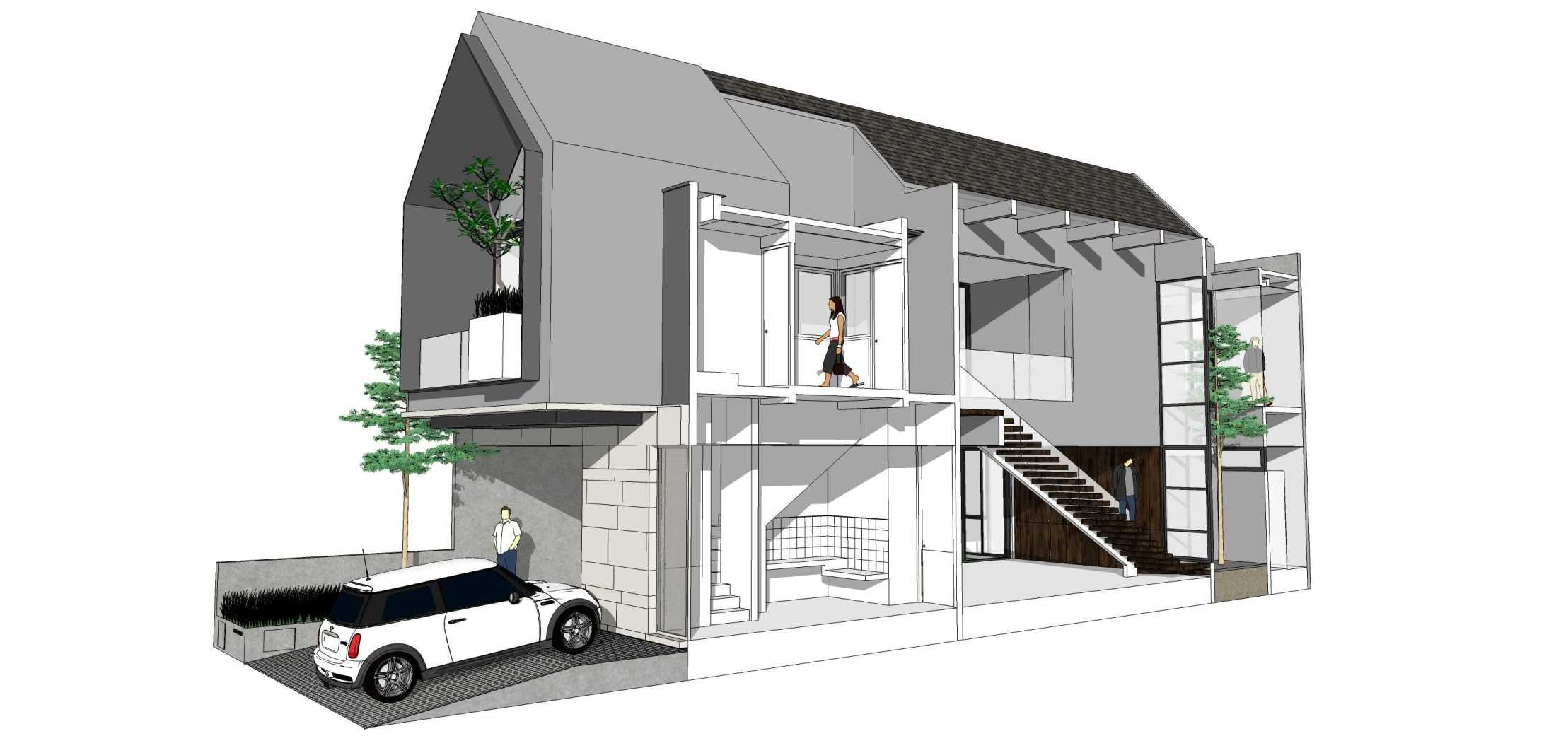 Simple Projects Architecture 'hhh' House Surabaya, Kota Sby, Jawa Timur, Indonesia  Simple-Projects-Architecture-Hhh-House  75099