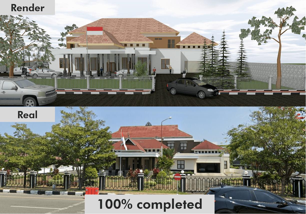 Jasa Kontraktor studio c+ di Balikpapan