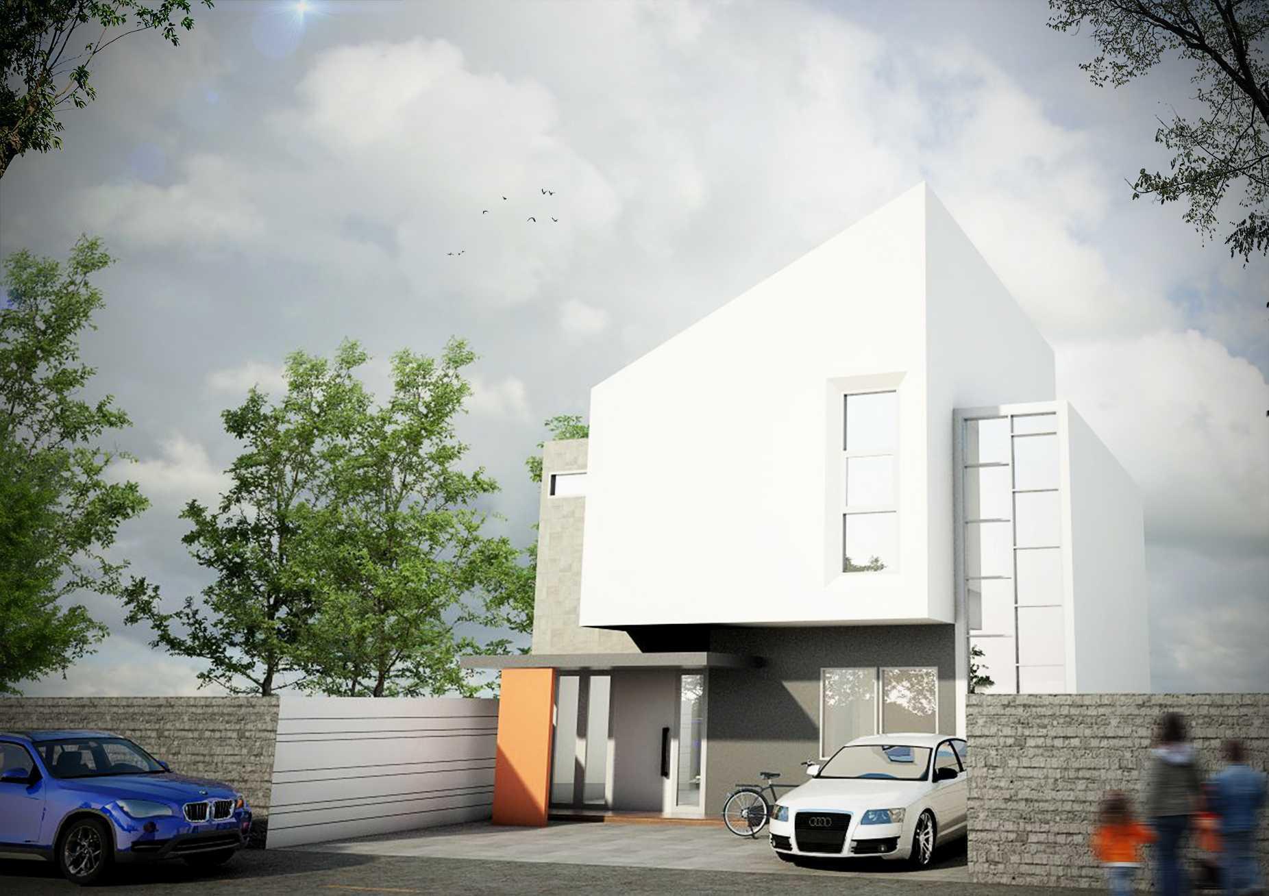 Sabio Design Modern White Facade House - Jakarta Jakarta, Daerah Khusus Ibukota Jakarta, Indonesia Jakarta, Daerah Khusus Ibukota Jakarta, Indonesia Sabio-Design-Modern-White-Facade-House-Jakarta  119841