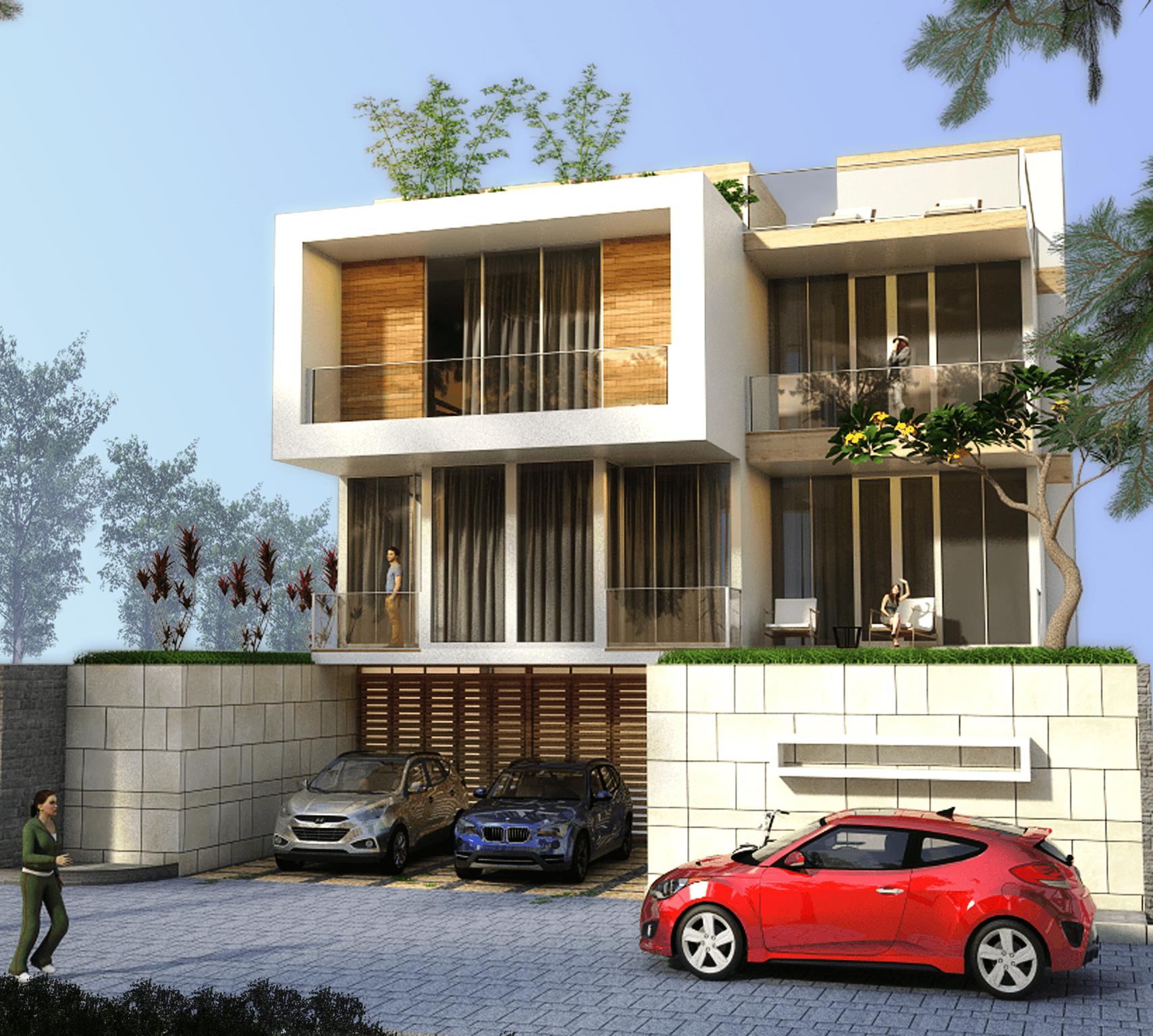 Sabio Design Box Modern House At Dago Resort, Bandung Kav. 96, Jl. Dago Pakar Permai I No.9, Mekarsaluyu, Kec. Cimenyan, Bandung, Jawa Barat 40198, Indonesia Kav. 96, Jl. Dago Pakar Permai I No.9, Mekarsaluyu, Kec. Cimenyan, Bandung, Jawa Barat 40198, Indonesia Sabio-Design-Box-Modern-House-At-Dago-Resort-Bandung  119881