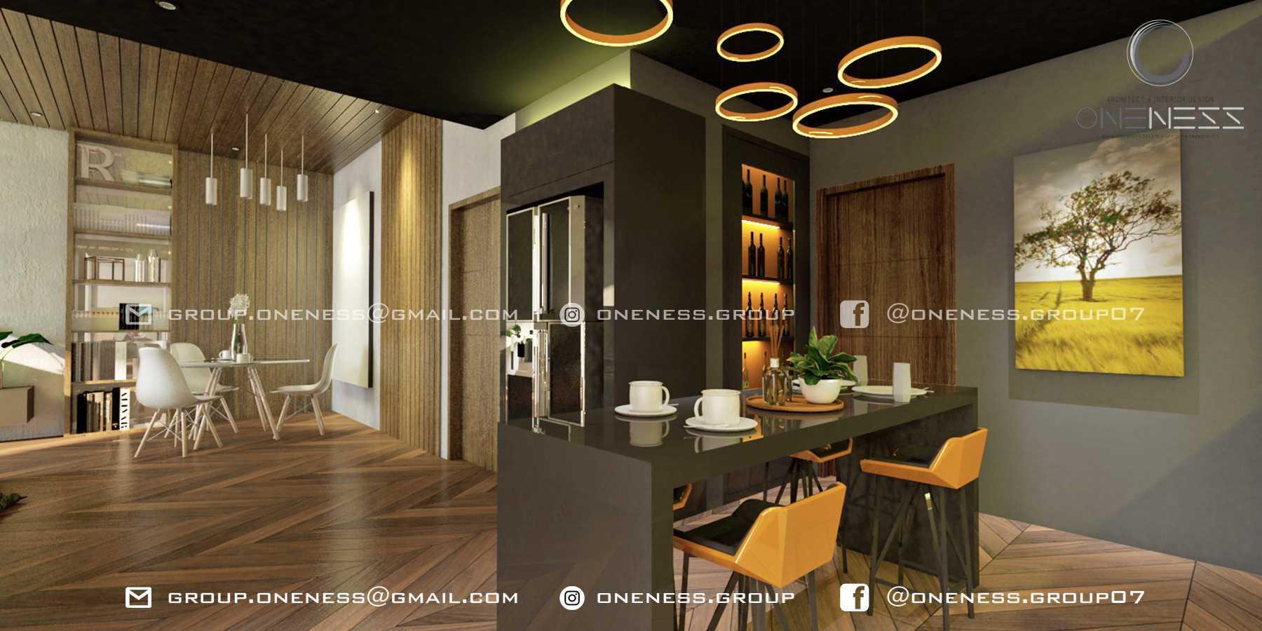 Oneness Group Interior Apartment Tangerang, Kota Tangerang, Banten, Indonesia Tangerang, Kota Tangerang, Banten, Indonesia Ruang Makan Minimalist 98236
