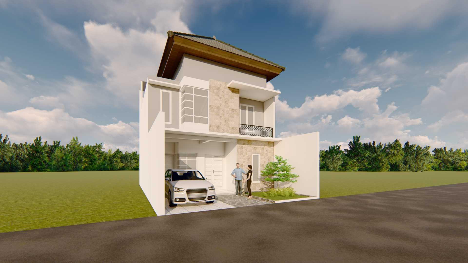 Astabumi Studio Sd House Tangerang Tangerang, Kota Tangerang, Banten, Indonesia Yogyakarta Cv-Astabumi-Manunggal-Prakarsa-Rumah-2-Lantai-Modern-Minimalis  119362