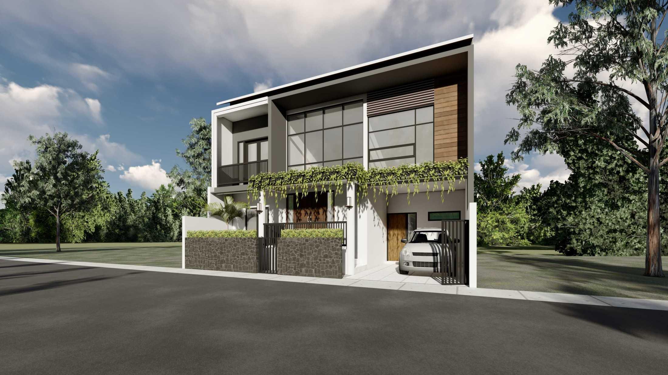 Astabumi Studio Ws House Slawi Tegal, Kota Tegal, Jawa Tengah, Indonesia Padang Cv-Astabumi-Manunggal-Prakarsa-Rumah-2-Lantai-Modern-Lokal  119348