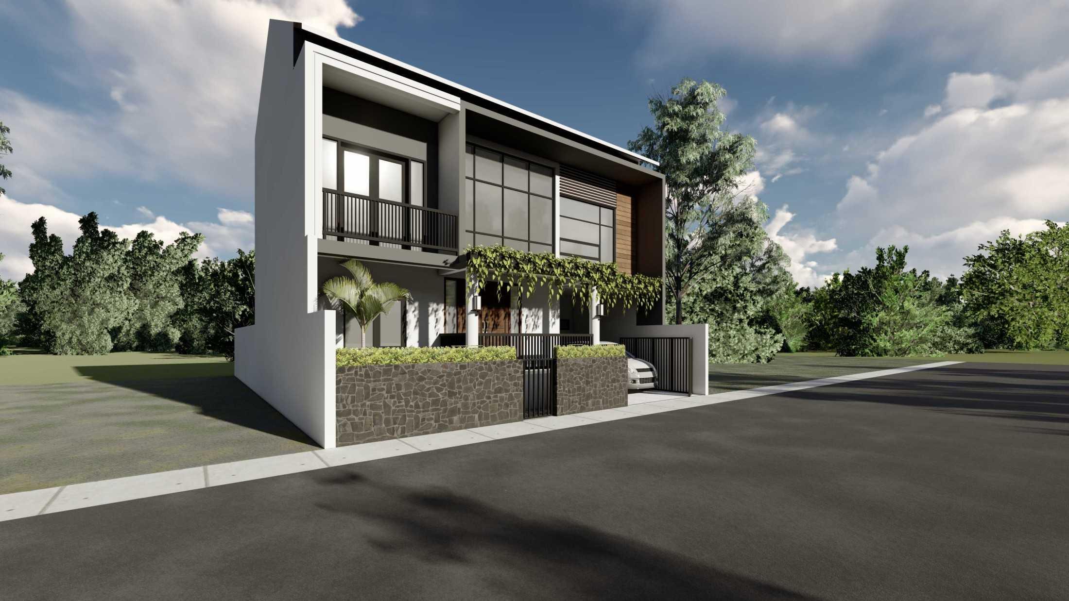 Astabumi Studio Ws House Slawi Tegal, Kota Tegal, Jawa Tengah, Indonesia Padang Cv-Astabumi-Manunggal-Prakarsa-Rumah-2-Lantai-Modern-Lokal  119349