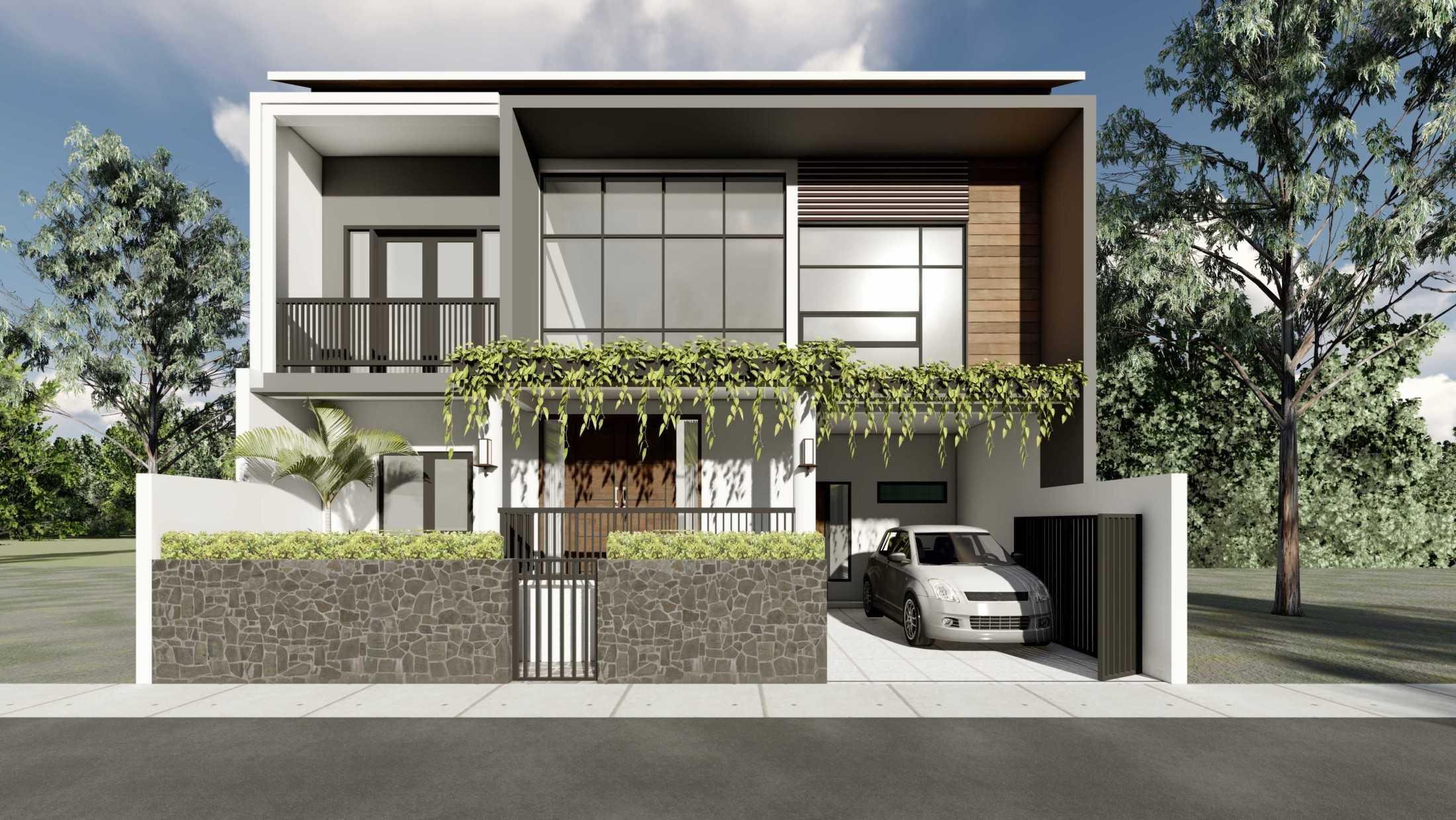Astabumi Studio Ws House Slawi Tegal, Kota Tegal, Jawa Tengah, Indonesia Padang Cv-Astabumi-Manunggal-Prakarsa-Rumah-2-Lantai-Modern-Lokal  119350