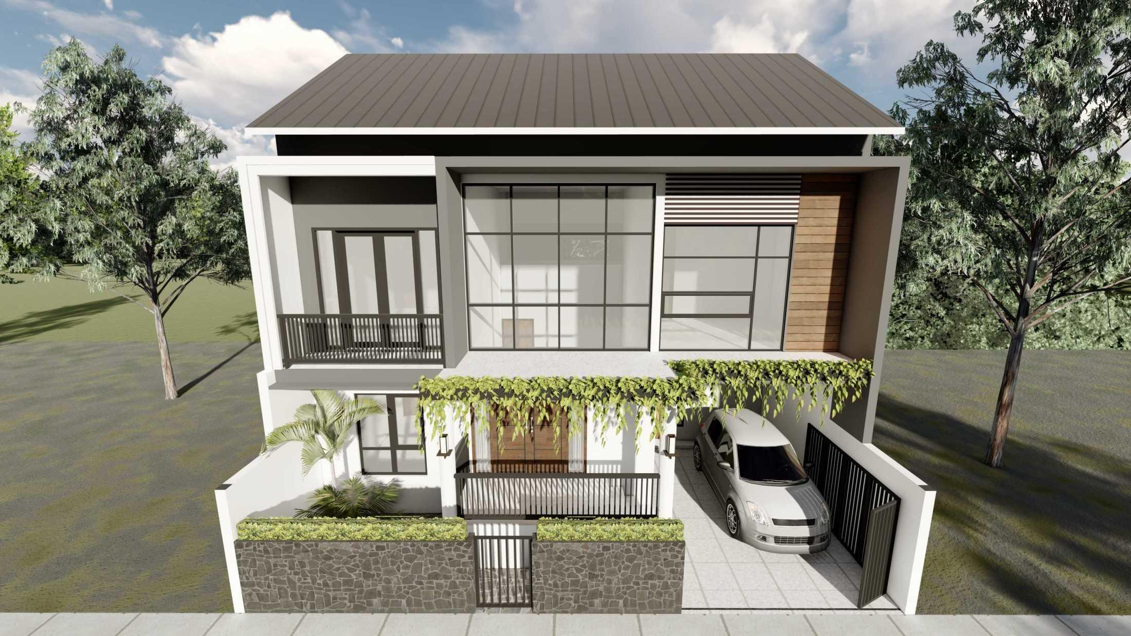 Astabumi Studio Ws House Slawi Tegal, Kota Tegal, Jawa Tengah, Indonesia Padang Cv-Astabumi-Manunggal-Prakarsa-Rumah-2-Lantai-Modern-Lokal  119354