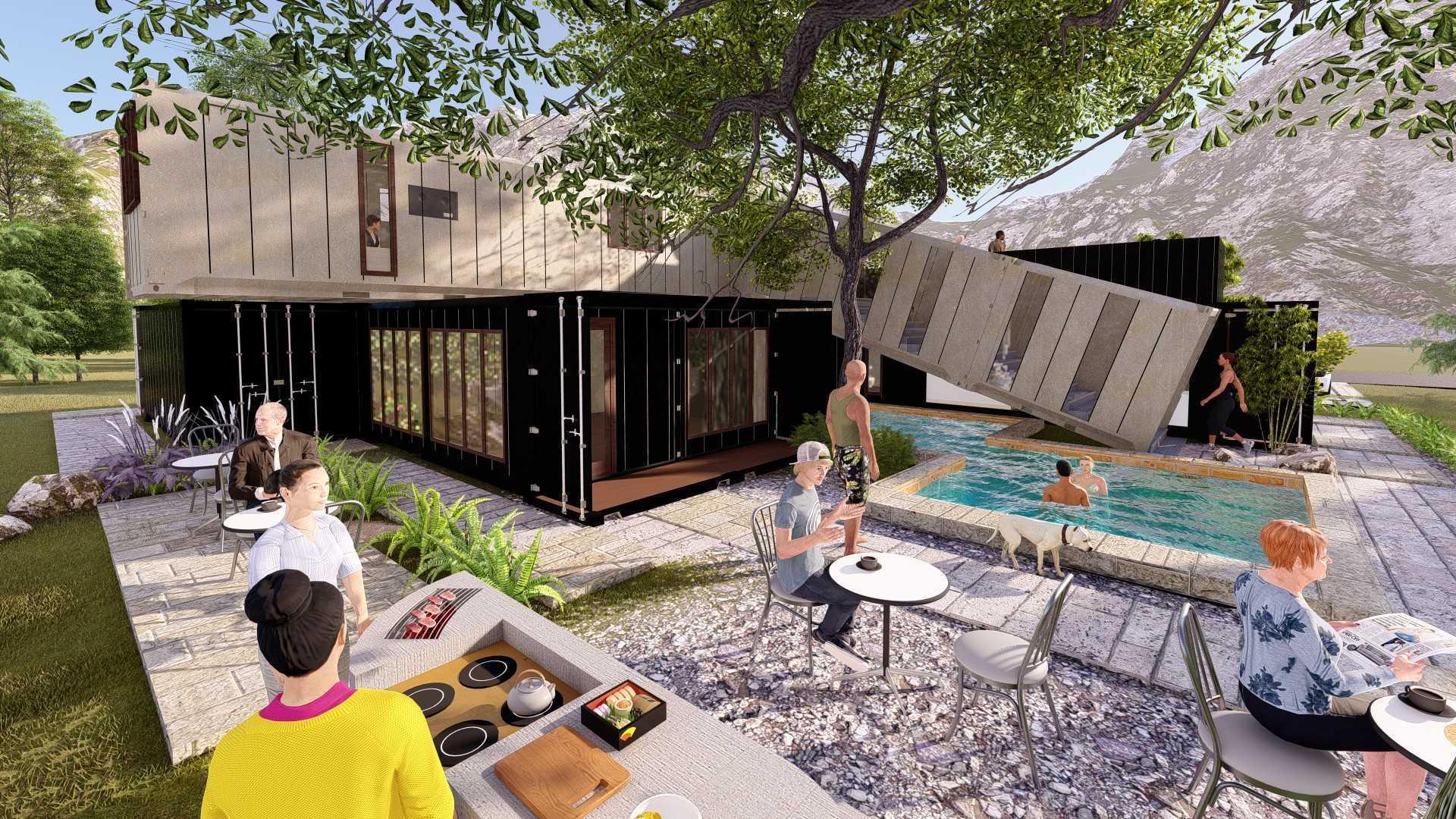Rasi.o Arsitektur Studio Box2Box Container Villa Indonesia Indonesia Rasio-Arsitektur-Studio-Box2Box-Container-Villa  127552