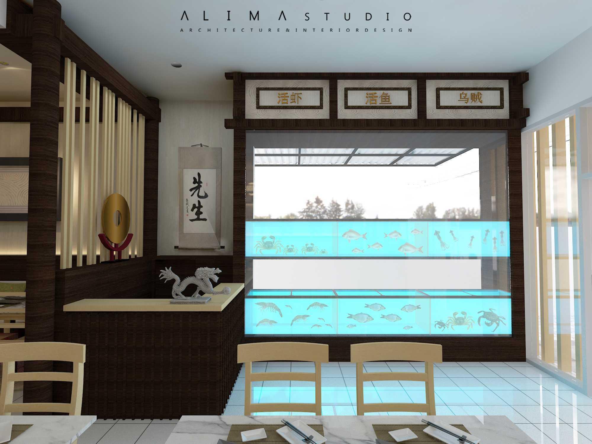 Foto inspirasi ide desain restoran asian Alima-studio-uncle-chong-restaurant oleh Alima Studio di Arsitag