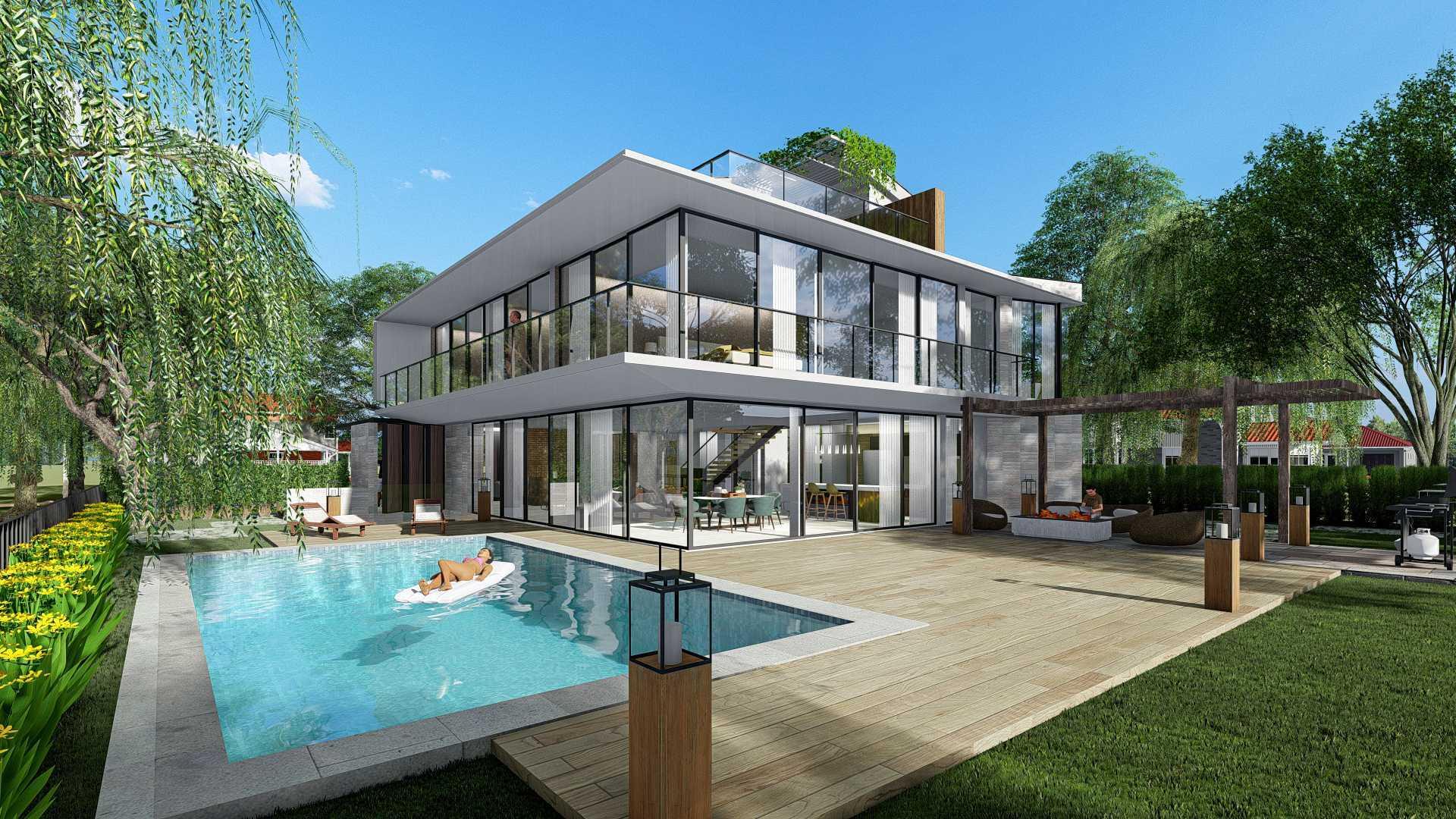 Bral Architect Alpen House In Germany 46519 Alpen, Jerman 46519 Alpen, Jerman Bral-Architect-Alpen-House-In-Germany  99882
