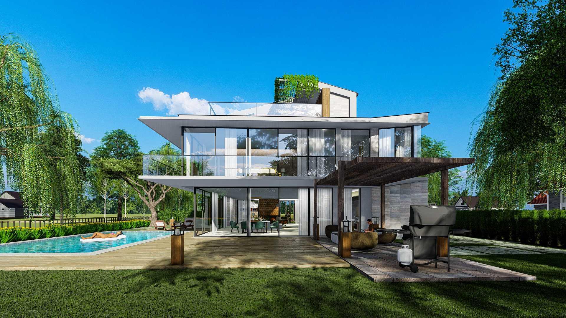Bral Architect Alpen House In Germany 46519 Alpen, Jerman 46519 Alpen, Jerman Bral-Architect-Alpen-House-In-Germany  99883