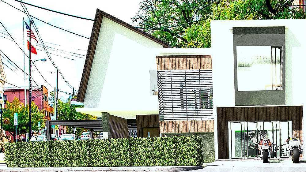 Foto inspirasi ide desain garasi industrial Iman-taufiq-industrial-house oleh Iman Taufiq di Arsitag