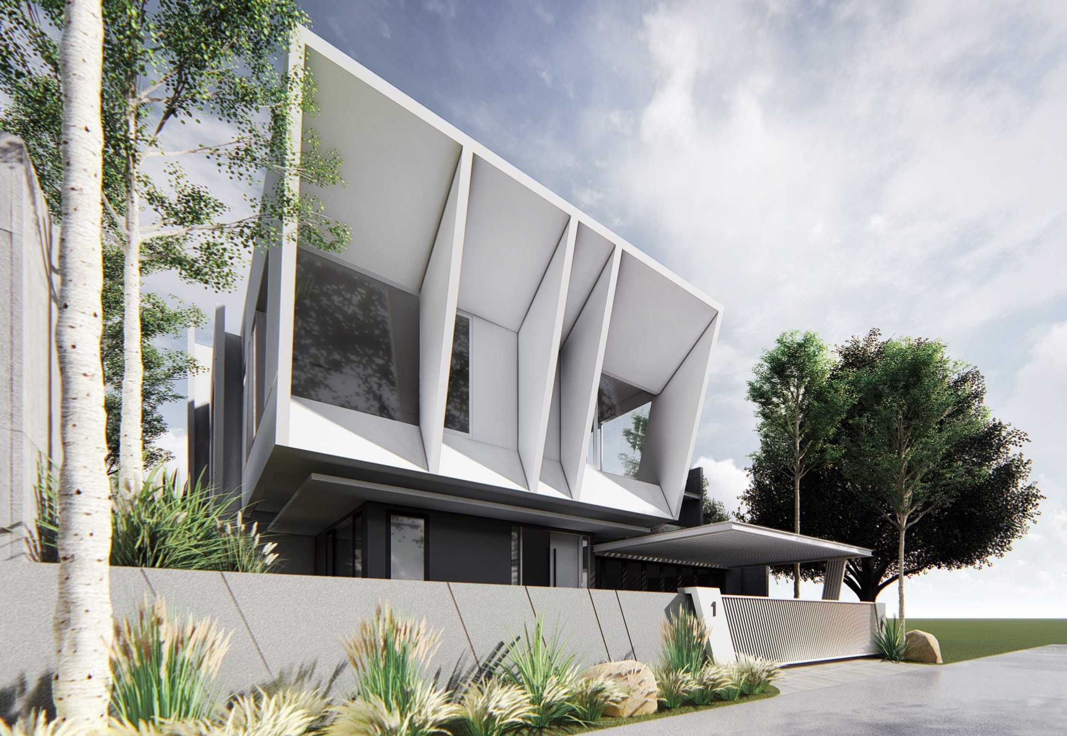 Mahastudio & Partner Italic House, Cibubur Jatisampurna, Kota Bks, Jawa Barat, Indonesia Jatisampurna, Kota Bks, Jawa Barat, Indonesia Mahastudio-Partner-Italic-House-Cibubur Modern 65448