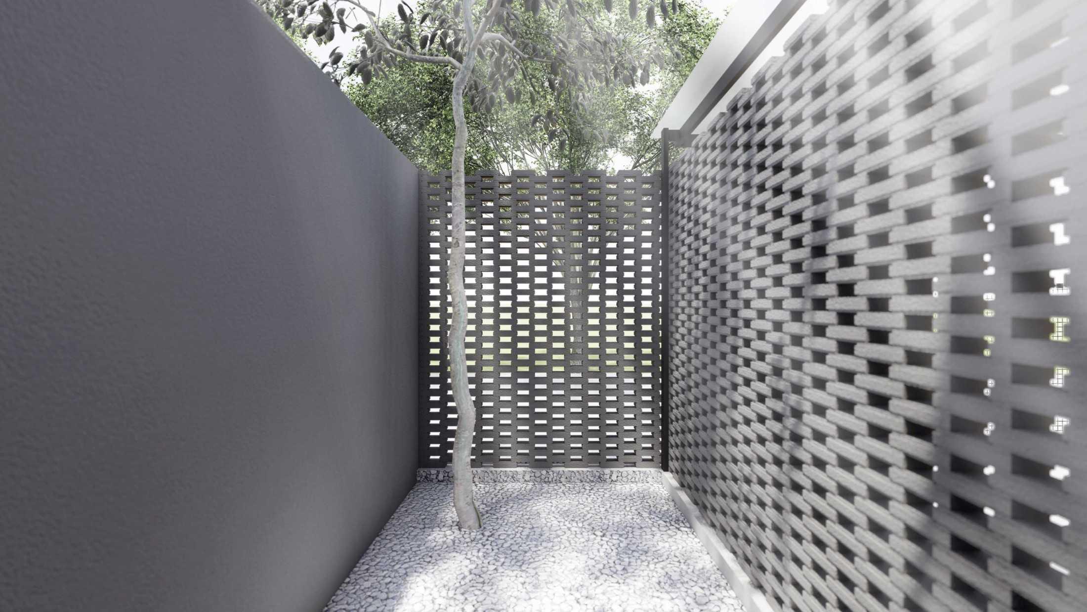 Foto inspirasi ide desain laundry Mahastudio-partner-elora-house-bekasi oleh MahaStudio & Partner di Arsitag