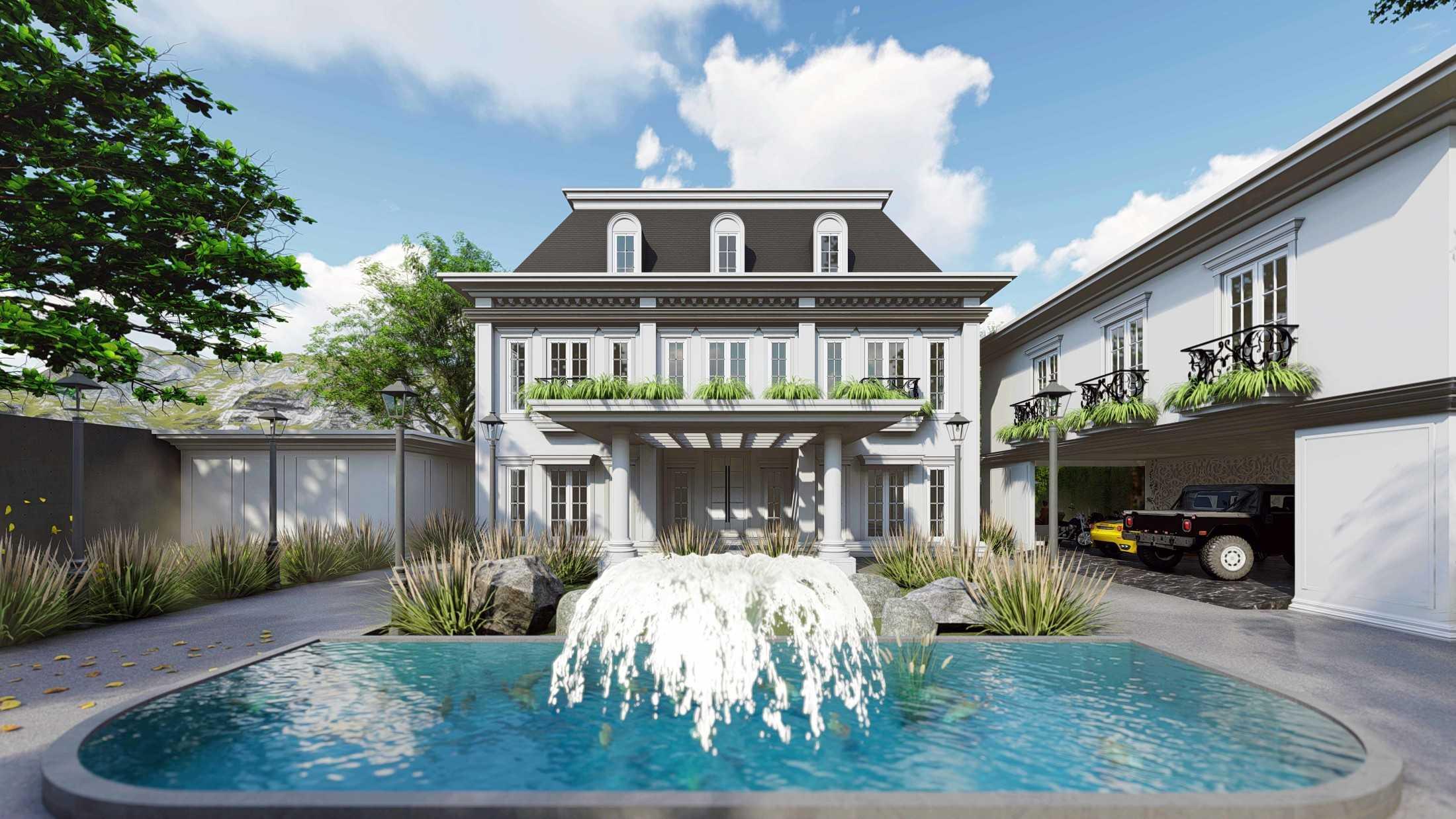 Foto inspirasi ide desain kolam klasik Mahastudio-partner-hidden-palace-house oleh MahaStudio & Partner di Arsitag