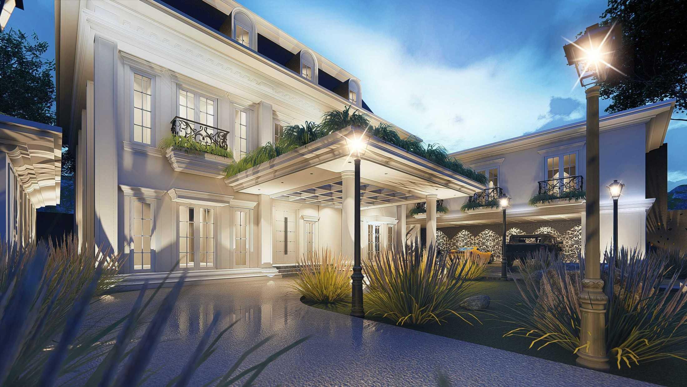 Mahastudio & Partner Hidden Palace House Bogor, Jawa Barat, Indonesia Bogor, Jawa Barat, Indonesia Denah Lt.3 Klasik 59877